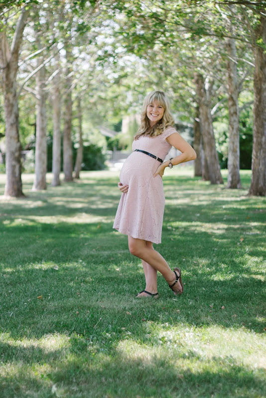 37 Weeks Pregnant - Pink Blush Maternity (1)