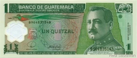 Mata uang Quetzal