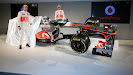Reveal McLaren MP4-27 Mercedes Button & Hamilton