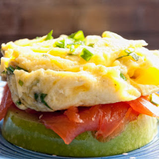 Egg, Salmon And Apple Sandwich recipe