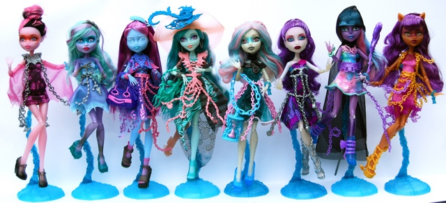Monster High Doll Collection 2015 Shopping experience  Aven