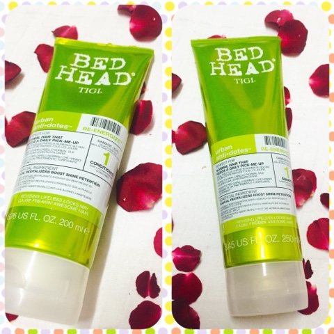 Bed Head TIGI urban anti+dotes Shampoo and Conditioner