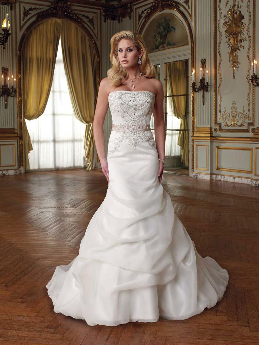 Organza Bridal Gown with