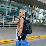 goodbye mom, it was fun in Toronto, Ontario, Canada