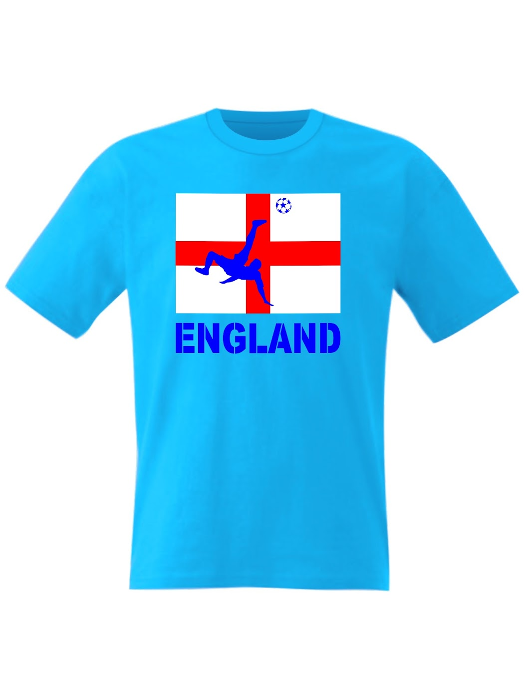 England football t shirt ball boys girls top world cup for Boys soccer t shirts