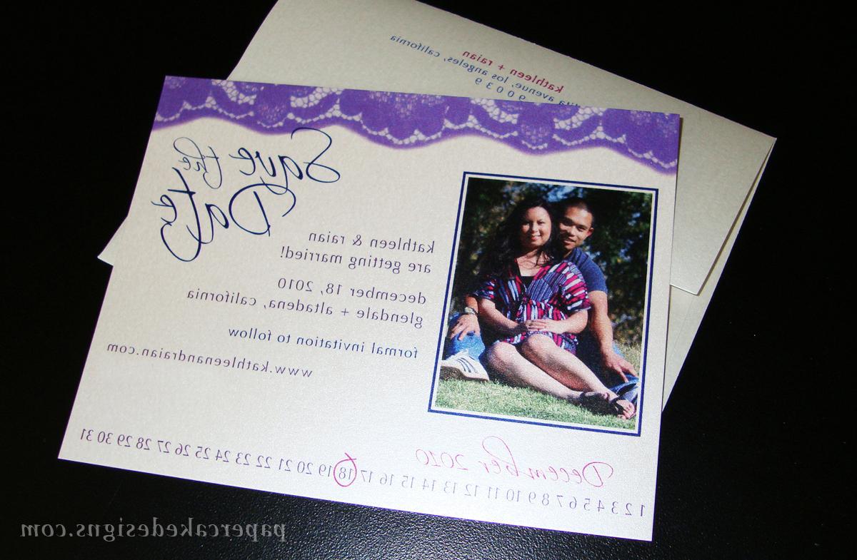 Flat card w envelope & return