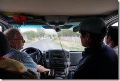 Probefahrt mit Elmer und Cesar