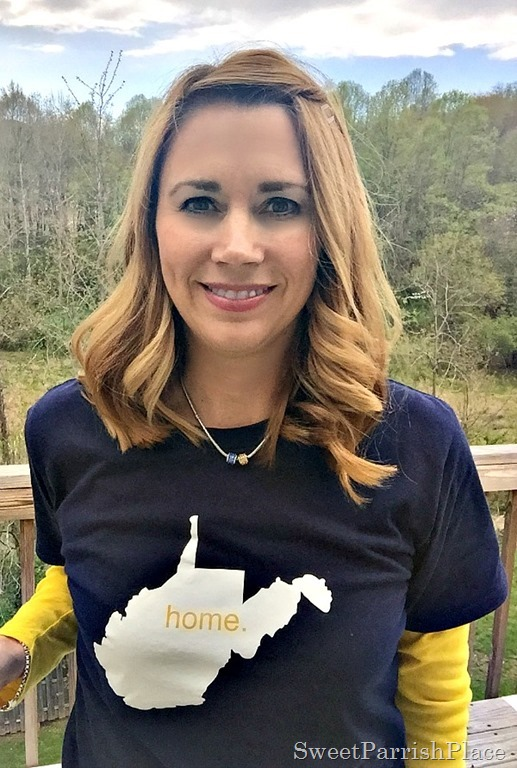 West Virginia Home T shirt