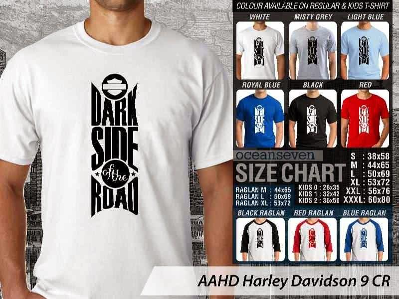 Kaos Motor Harley Davidson 9 distro ocean seven
