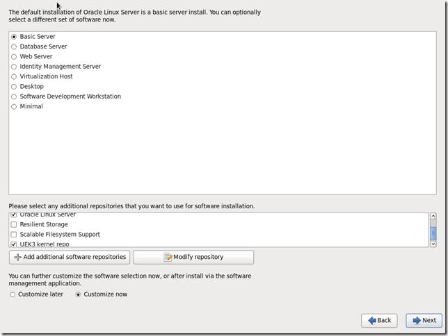 Install OS Screen 25