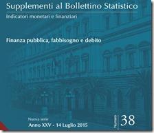 Supplementi al bollettino statistico. Luglio 2015