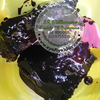 Kek coklat tanpa guna mixer