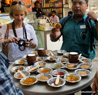 Delhi breakfast spread http://indiafoodtour.com  http://foodtourindelhi.com