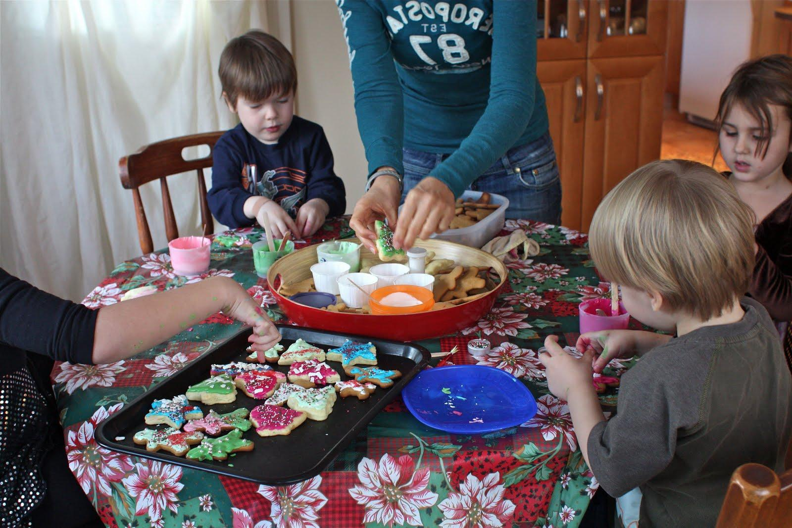 around flinging ornaments,