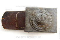 Prussian war buckle model 1915