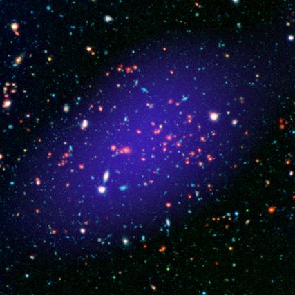 aglomerado de galáxias MOO J1142 1527