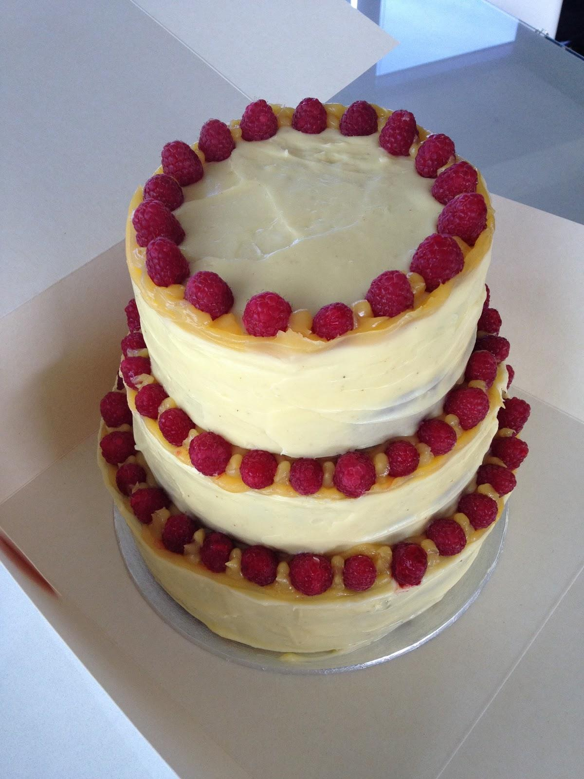 Wedding Cakes. 3 tiered lemon