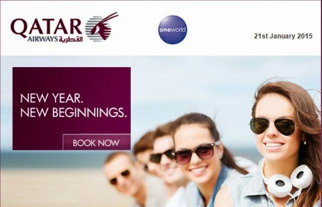 卡塔爾航空 - 香港飛迪拜$4,493起、歐洲各城市$5,087起,優惠至1月26日。