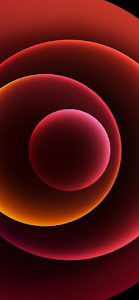 Dark Red Wallpaper iPhone 12