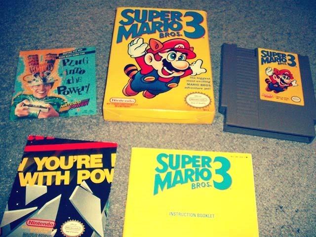 Super Mario Bros. 3 Open Box