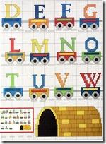 abecedario tren-1