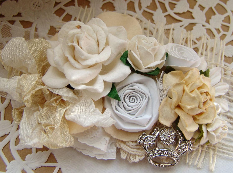 Handmade roses Shabby Chic