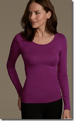 Heatgen scoop neck top - 11 colours