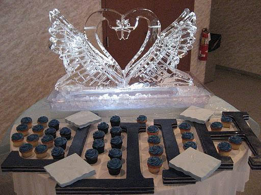 votives, head table decor,