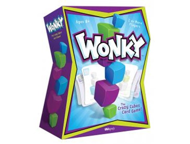 Wonky: The Crazy Cube Game