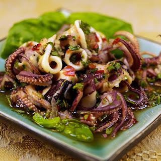 Garlic Squid Thai Recipes