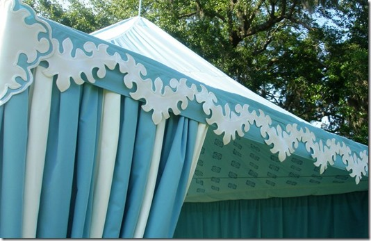 Bespoke Cabana by Boutique Tents | Designed for Tara Guerard