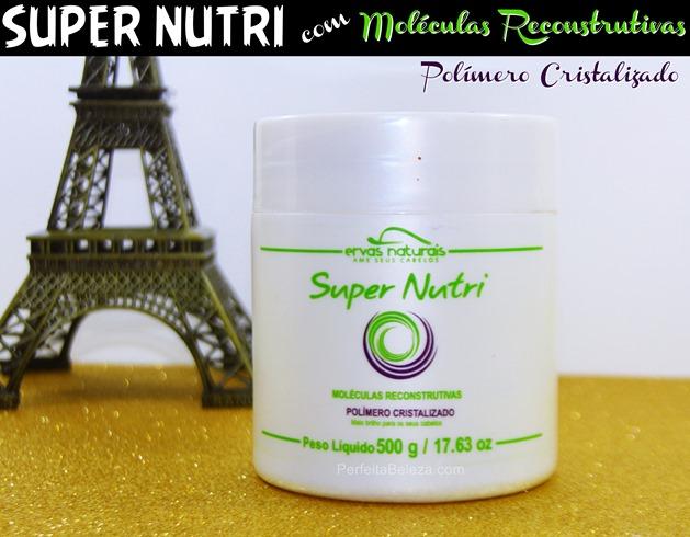 SUPER NUTRI ERVAS NATURAIS