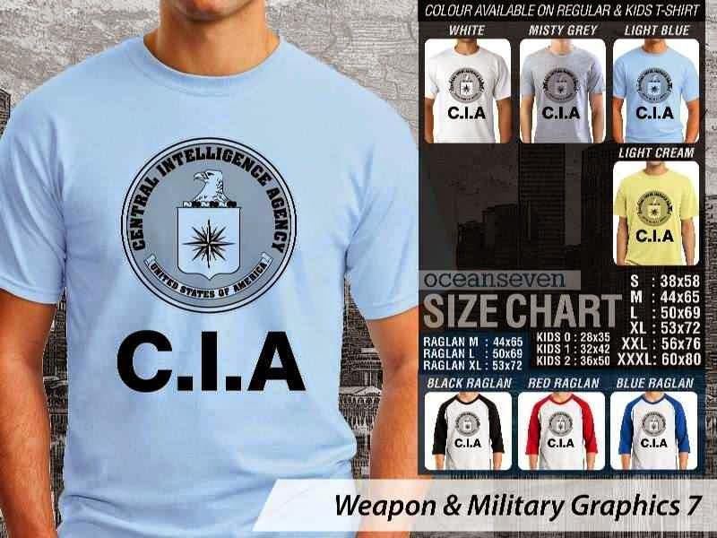 KAOS Militer CIA Weapon & Military Graphics 7 distro ocean seven