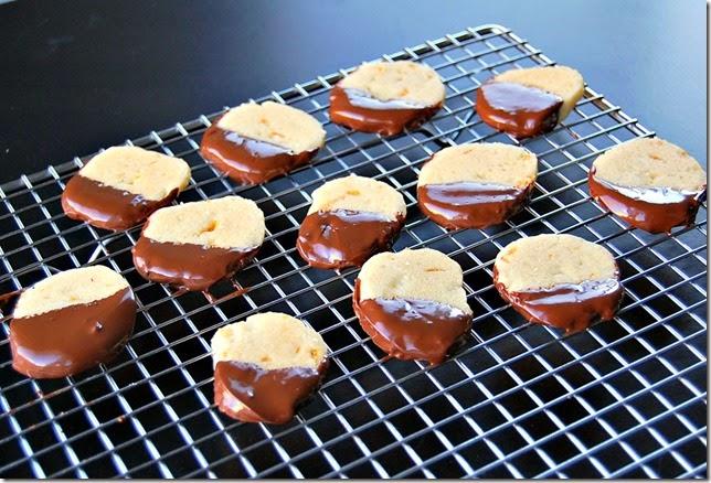 Chocolate Orange Shortbread