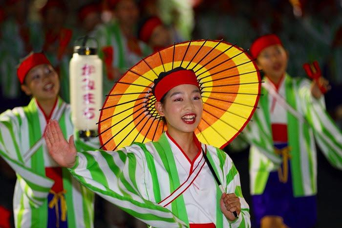 第59回よさこい祭り☆本祭2日目・升形地域競演場25☆上2目1057