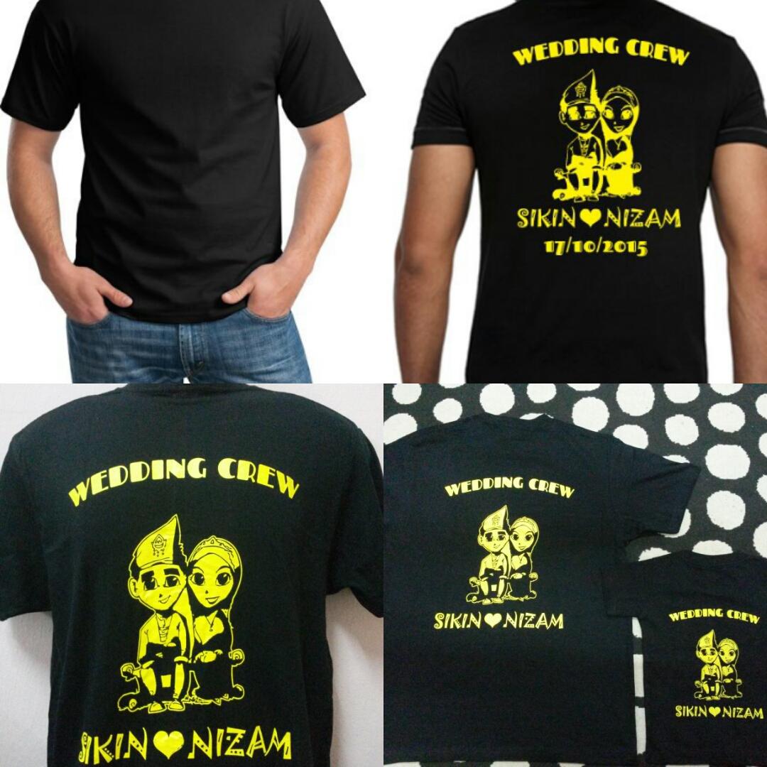 Design t shirt murah - Tempahan Tshirt Wedsing Crew Qty 30helai Your Design We Do Jom Tempah Tshirt Printing Penghantaran Disediakan Ke Seluruh Malaysia Dengan Harga Yang Murah