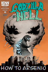 Actualización 24/10/2015: E.P.Green nos trae su tradumaquetación de Godzilla In Hell #4.