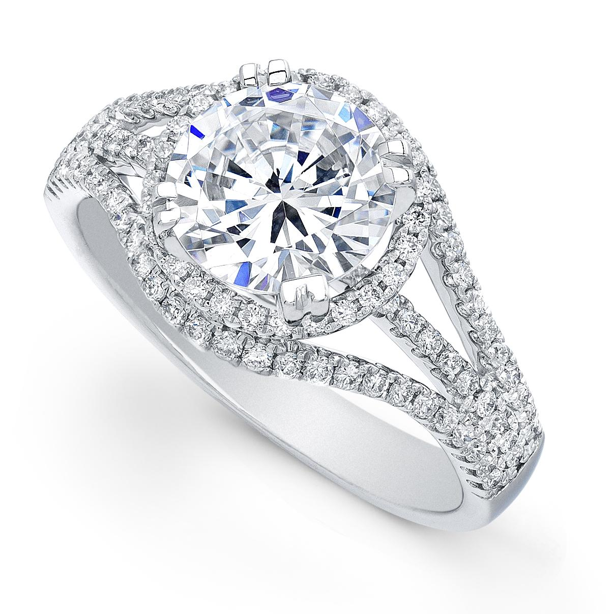 Engagement Ring Carat Weight: