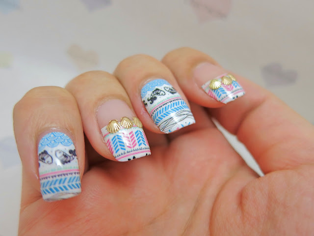 Summer Sea Nail Art Nail Wrap MDS1023