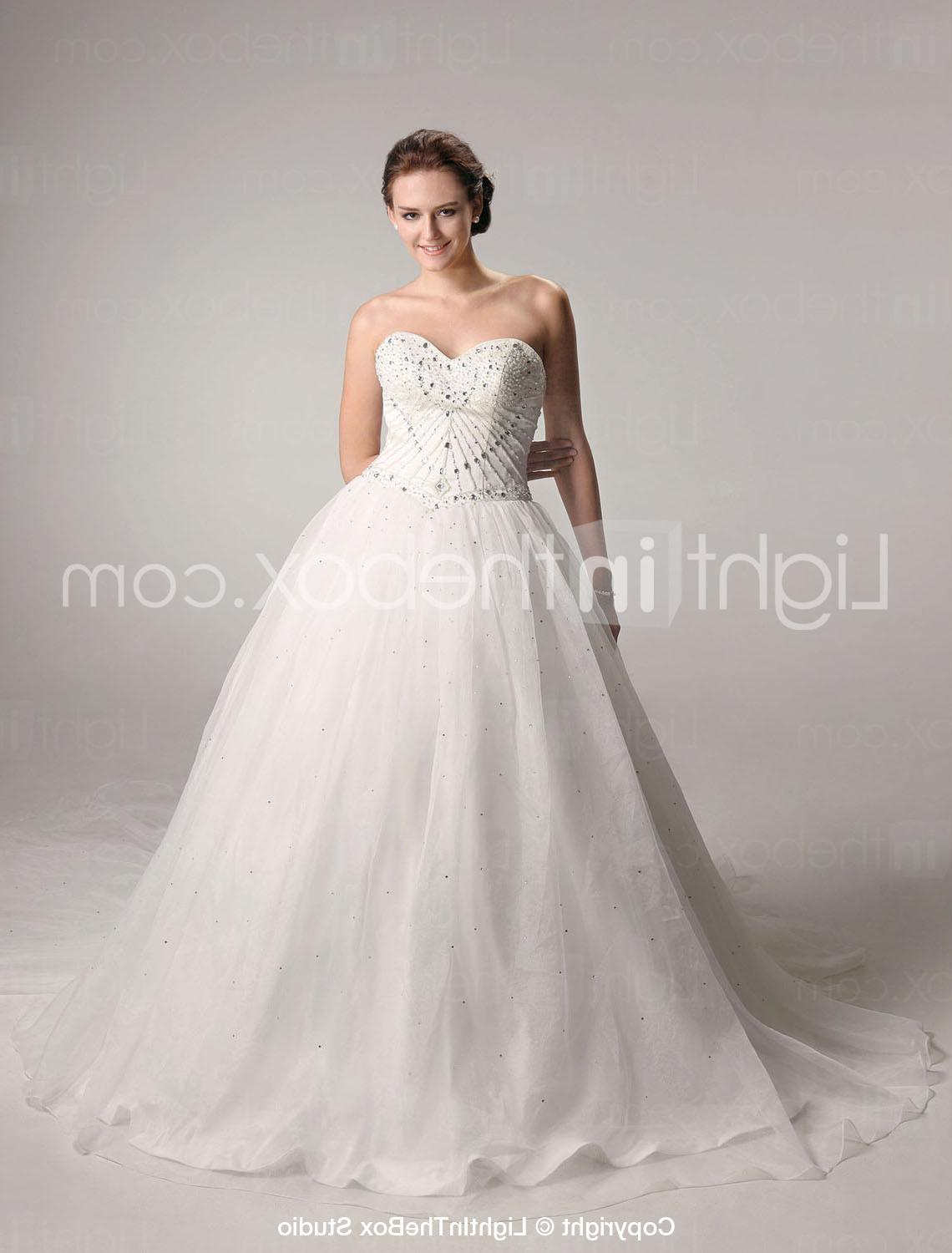 Ball Gown Sweetheart Chapel