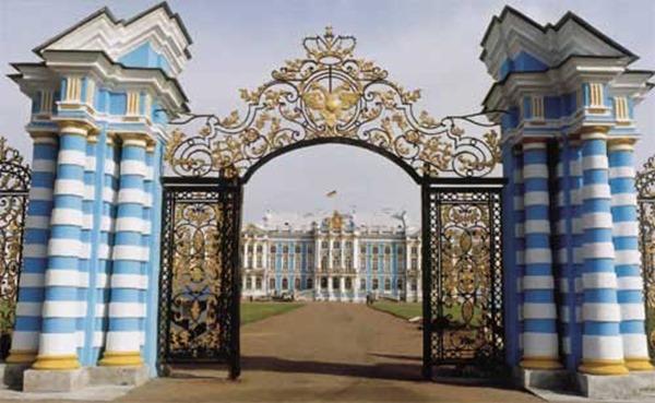 Palacio-de-Catalina  Palacio Tsárskoye Seló