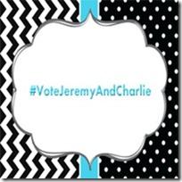 #VoteJeremyAndCharlie