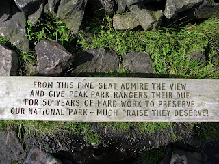 Poem on a seat