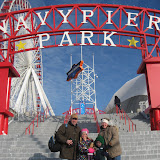 The Freys at Navy Pier Park in Chicago 01152012b