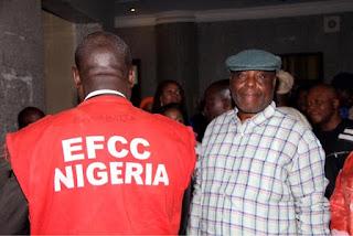 Raymond Dokpesi in EFCC custody