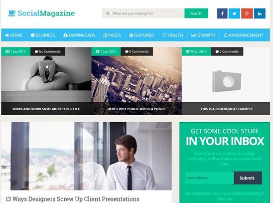 social-magazine