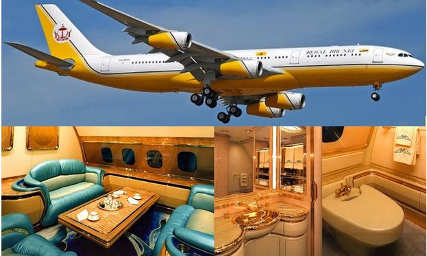 10 Foto Jumlah Aset Sultan Brunei Kapal Terbang Yang Mengejutkan