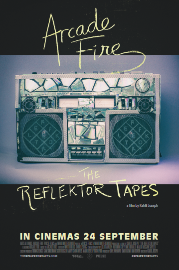Reflektor Tapes poster