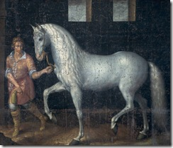 Jacob_de_Gheyn_(II)_Spanish_battle_stallion_1603