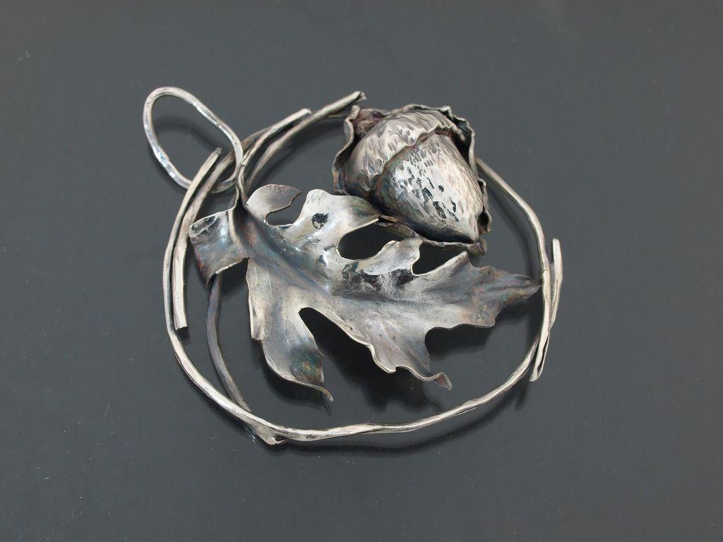leaf jewelry copper bronze11